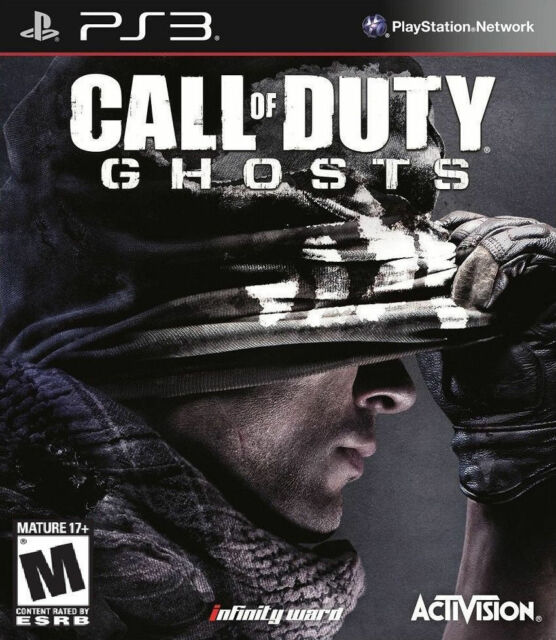 Call Of Duty Ghosts PlayStation 3, 2013  - $0.99