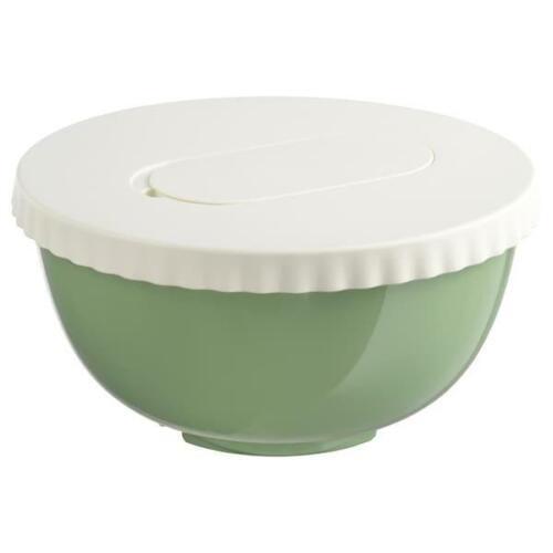 IKEA Salatschüssel Schüssel Rührschüssel Servierschüssel 4 L mit Deckel grün
