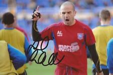 IPSWICH: ANDY LIDDELL SIGNED 6x4 ACTION PHOTO+COA