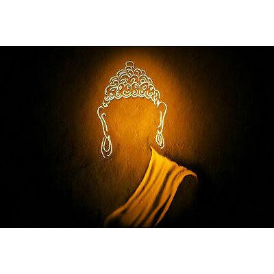"Artistic Budha Matt Framed Painting By Dreamzdecor-8""x 12"" Size."