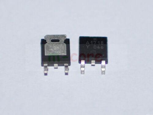 2pcs or 5pcs g9 KA1718 2SA1718 A1718 PNP Power Transistor TO-252-1pc