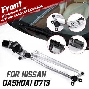 Avant-Essuie-Glace-Moteur-COMPLET-attelage-pour-Nissan-Qashqai-MK2-2007-2013