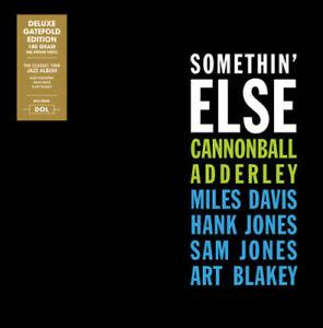 Cannonball-Adderley-Somethin-039-Else-180gram-Vinyl-LP-Miles-Davis-Gift-Idea-Album