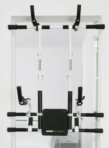 Doorway Fitness Tower Home Gym System Horizontal Pull Up Bars Workout Equipment