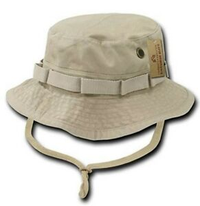 Military Camo Boonie Hat Cap Cotton Mens, E-ruins