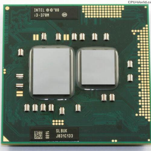 Intel Core i3-330M i3-350M i3-370M i3-380M i3-390M Socket G1 Processor