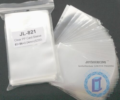 for 59x92mm Euro Board Games cards JOYSOURCING Card Sleeves JL-821 61x94-S200