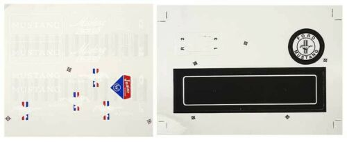 1964 1965 1966 FORD MUSTANG AMF PEDAL CAR RESTORATION DECAL STICKER SET KIT NEW
