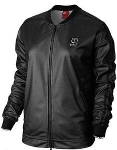 Nike-744004-Women-039-s-220-NikeCourt-Jacket-Tennis-Training-Casual-Bomber-Full-zip