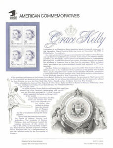 #411 29c Grace Kelly #2749 USPS Commemorative Stamp Panel