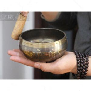 Copper-Buddha-Singing-Bowl-Alms-Bowl-Yoga-Meditation-Sound-Bowl-With-Hand-Stick