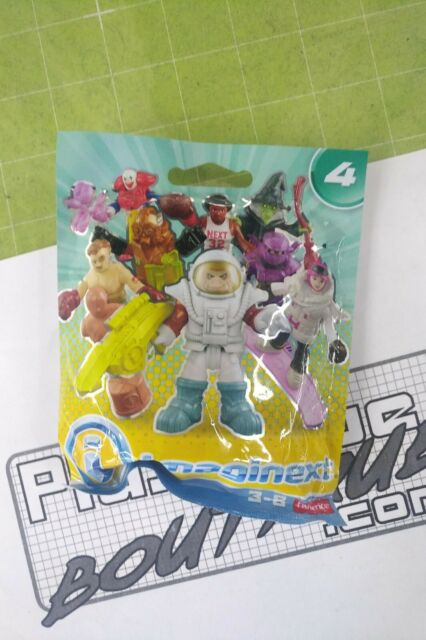 02 Imaginext Mystery Figure Blind Bag NEW /& SEALED FEMALE PILOT Series 6