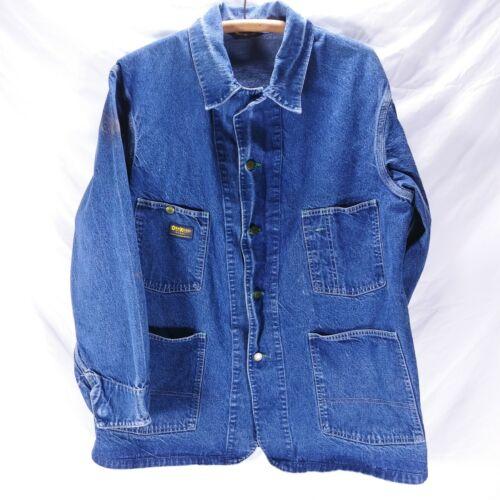Oshkosh B'Gosh Size 44 Chore Work Jacket Denim Jea