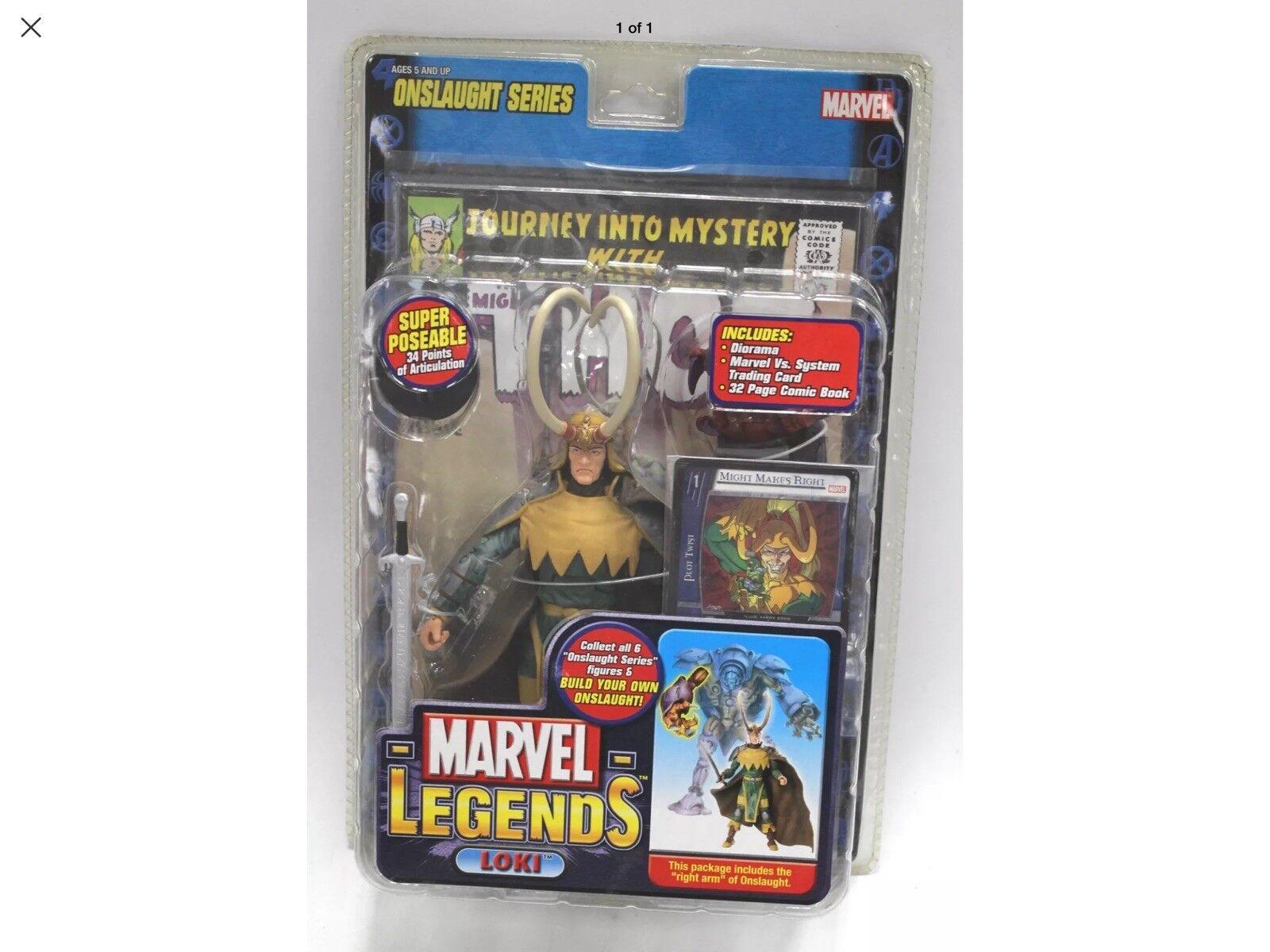 Marvel - legenden ansturm baf - reihe, loki (kurze horn variante) action - figur