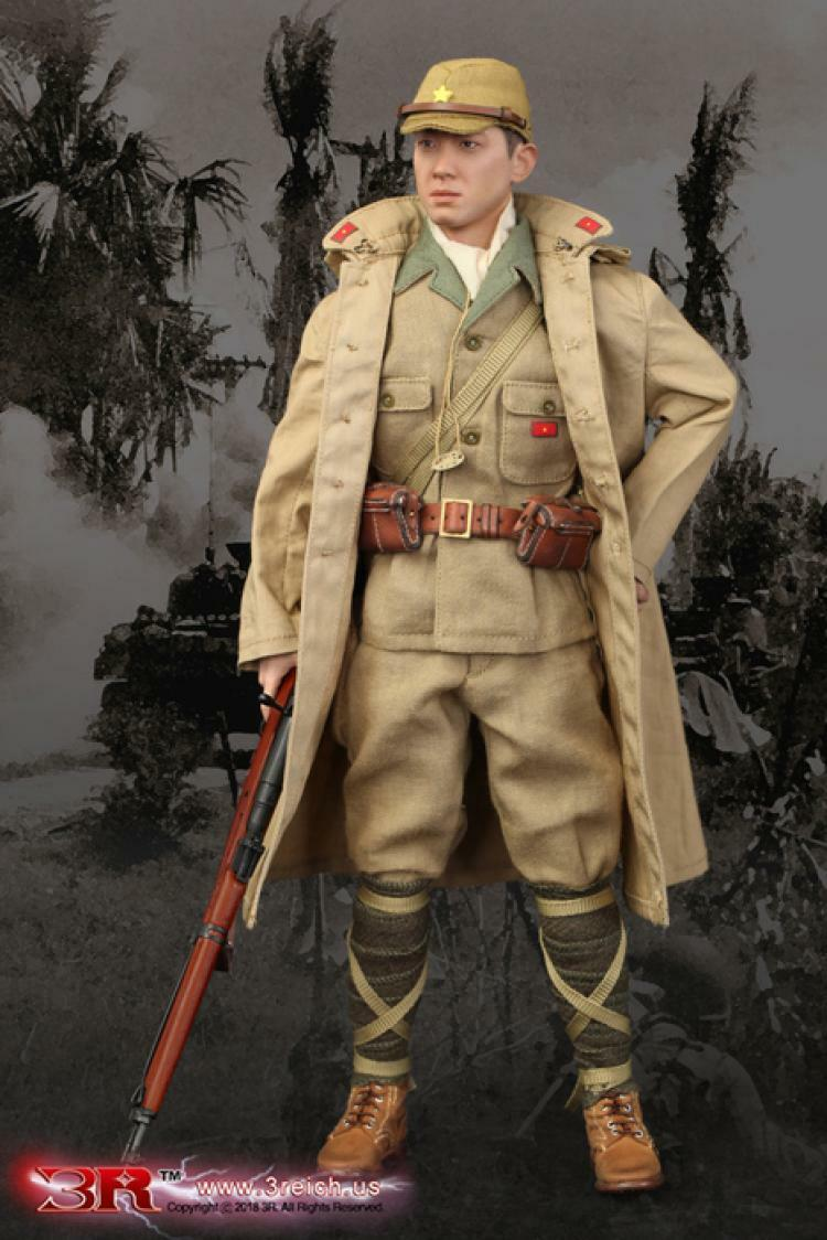 3R Imperial Japanese 32nd Army 24th Division Private Takuya Hayashi 1 6 Figure