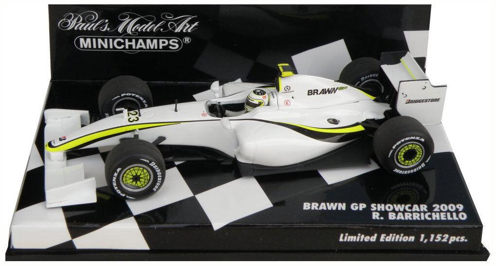 Minichamps Brawn GP Showcar 2009 - Rubens Barrichello 1 43 Scale