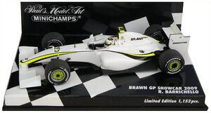 Minichamps Brawn Gp Showcar 2009 - Rubens Barrichello Echelle 1/43 4012138094154
