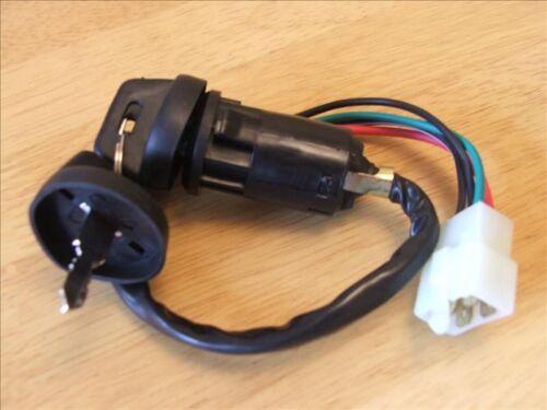 Ignition Key Switch HONDA 300 TRX300FW FOURTRAX 1990-2000 ATV QUAD /&  2 KEYS