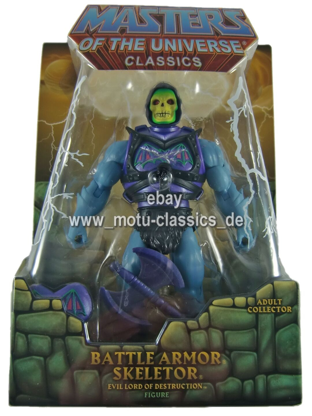 Battle armor skeletor first release motu masters of the universe classics I