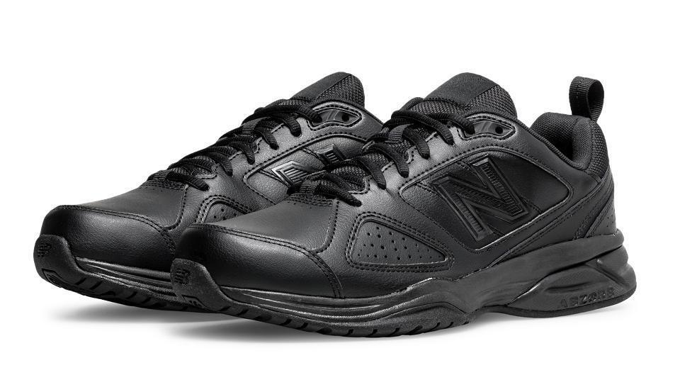 Casual salvaje New Balance Para hombre Negro Entrenador Zapatos de MX624AB4 de Ancho Ajuste Ancho 2E 4E 6E