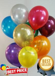 Latex-PEARL-10-034-BALOON-BALLONS-helium-METALLIC-BALLOONS-Party-Birthday-Wedding