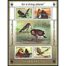 Aserbaidschan Azerbaijan WWF 2011, Schlangenadler, Block ** (postfrisch)