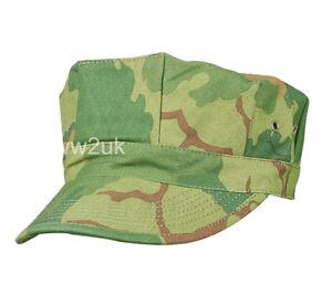 VIETNAM-WAR-US-MITCHELL-CAMO-UTILITY-CAP-SIZE-XXL-34353