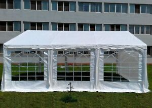 20 X FT Heavy Duty Commercial Party Canopy Car Shelter Wedding Camping Tent