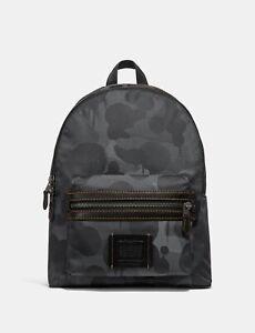 COACH-x-Baseman-Wild-Beast-Camo-Print-Academy-Backpack-Travel-Laptop-Bag-395