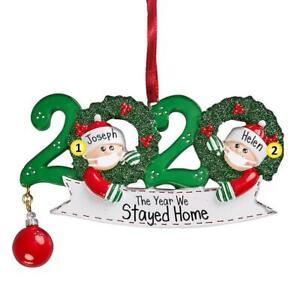 2020 Christmas Santa Claus Mask Christmas Charm Family Personalized Decoration.