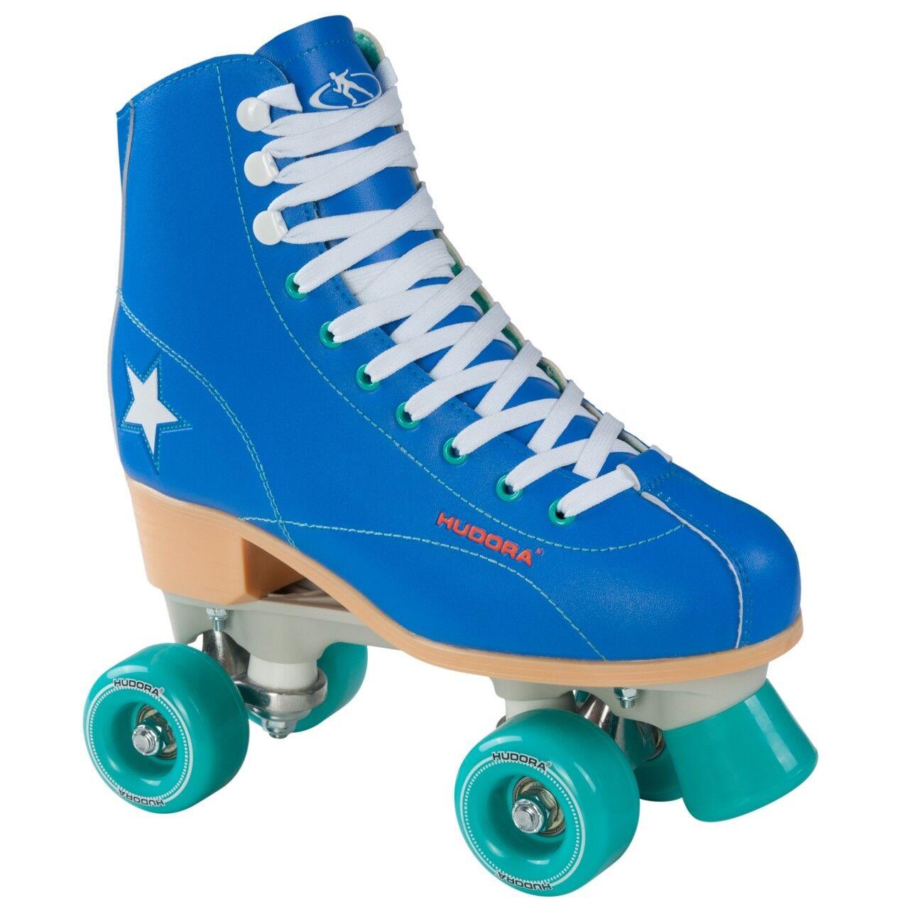 HUDORA Rollschuhe Roller Skate Disco Gr. 43 blau-grün