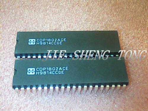 2PCS CDP1802ACE Microprocesseur 8 bits 40 broches plastique DIP