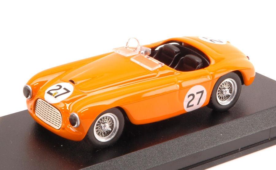 Ferrari 166 Barchetta  27 Winner Zanwoort 1950 H. Roosdorp 1 43 Model 0323