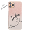 Initial-Phone-Case-Personalised-Grey-Pink-Marble-Hard-Cover-For-Apple-iPhone Indexbild 15