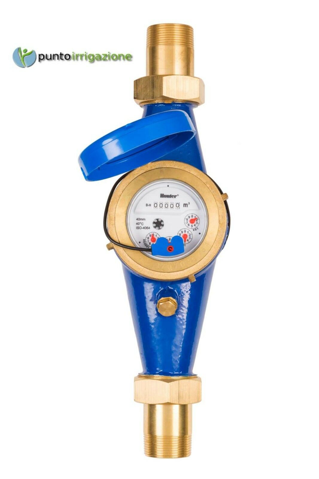 Misuratore di portata Hunter HC-075-FLOW-B o HC-100-FLOW-B Hydrawise 3 4  e 1