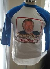 VTG 1984 KENNY ROGERS World Tour Concert Dodge 50/50 T Shirt Medium Deadstock