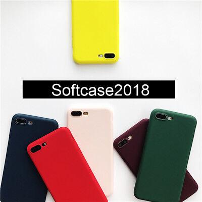 Colors Soft TPU Matte Cover Phone Case