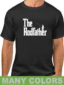 98baf991d8 The Rodfather Shirt Funny Fishing T-Shirt Gift Dad Daddy Fathers Day ...