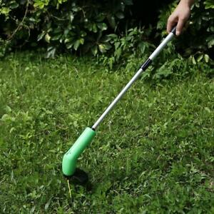 Portable-Grass-Trimmer-Cordless-Garden-Lawn-Weed-Eater-Cutter-Edger-Zip-Tie-Tool