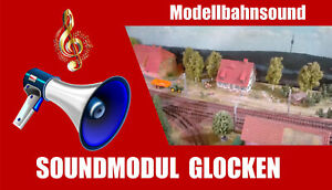 Soundmodul-Glocken-Mp3-Sound-mit-SD-Karte-Modellbahn-Sound