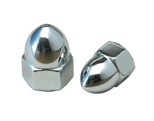 Chrome Acorn Nut 71614 PACK OF 10