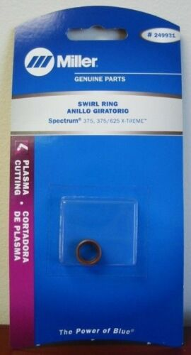Miller Genuine Swirl Ring for Spectrum 375 375//625 X-treme XT30//40 torch 249931