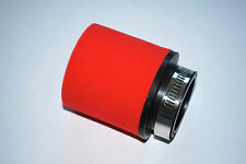 RED RACING FOAM AIR FILTER TO FIT HONDA XR125L ALL YEARS 38MM RAM POD