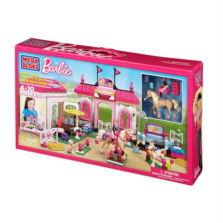 MEGA BLOKS - 80246 - écurie de Barbie-  horse stable - NEUF  sortie en vente