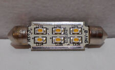 Lot of 10 Ardee 24V Festoon 6 Led Clikstrip Bulbs