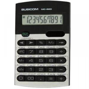 busicom metric converter calculator 10 digit school home office