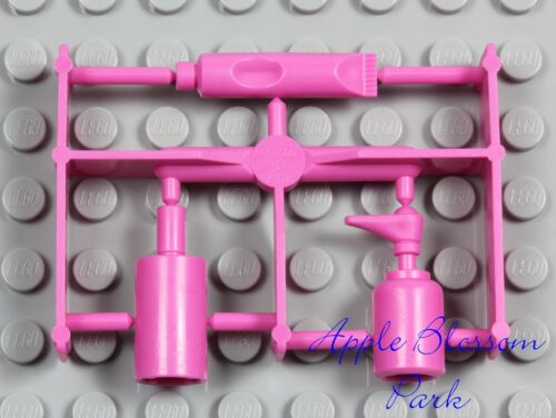 NEW Lego Minifig PINK BOTTLES /& TOOTHPASTE TUBE Friends Belville Bathroom Items