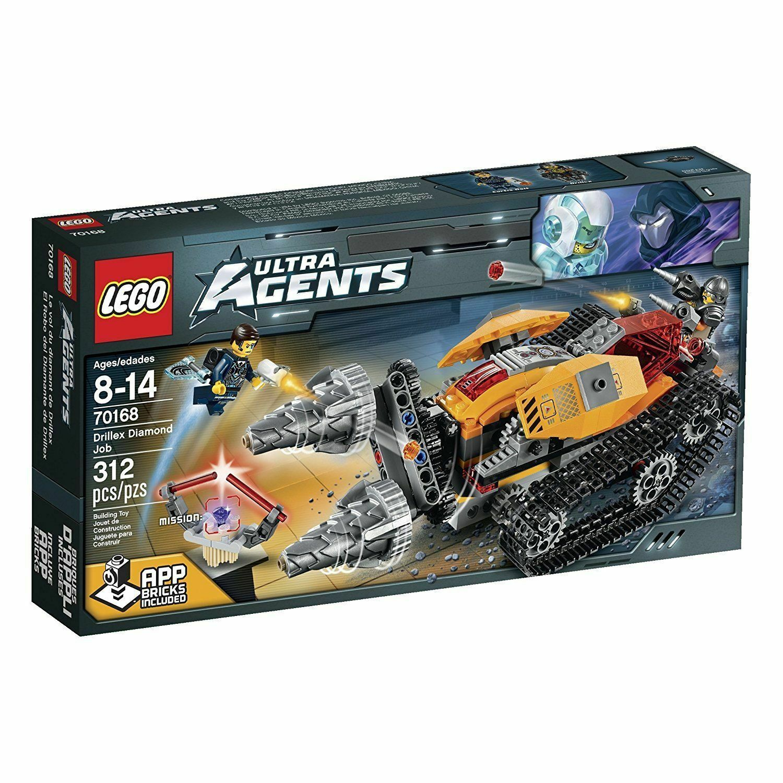 70168 DRILLEX DIAMOND JOB lego NEW city town SEALED legos set ultra agents