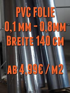 PVC Folie glasklar 0,4mm, Cabrio, Garden fenster, Abdeckung, transparent