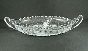 Vintage-Fostoria-American-Divided-Relish-Tray-Clear-Glass-12-034